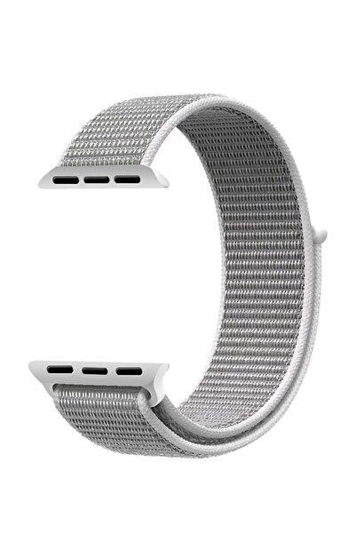 Robotekno Gri Apple Watch Dokuma Kordon Kayış - 42mm 44mm