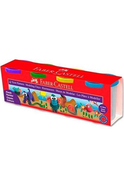 Faber Castell Su Bazlı Oyun Hamuru 4 Klasik Renk 440 Gr.