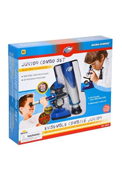 Me Toys 020341 Sun-eas-bilim Mikroskop/teleskop Set Junıor Combo