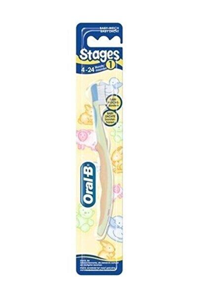 Oral-B Stages Çocuk Diş Fırçası 4-24 Aylık