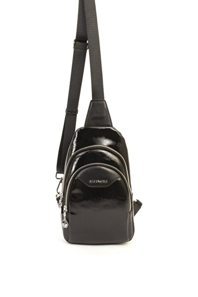 Silver Polo Kadın Siyah Freebag