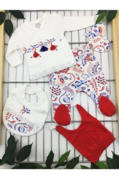 İmaj Bebek Beyaz Lalezar 5'li Set 5056