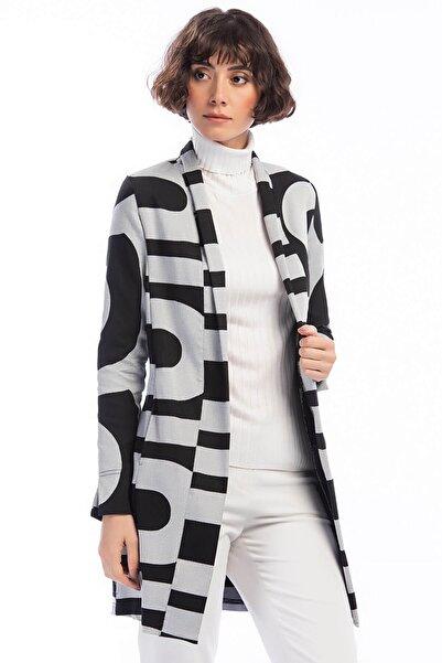 Laranor Kadın Desenli Ceket