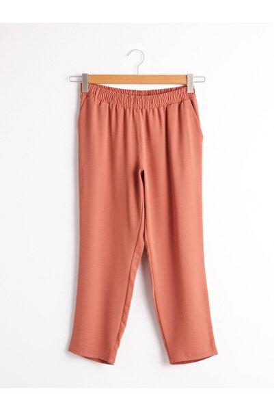 LC Waikiki Kadın Turuncu Pantolon