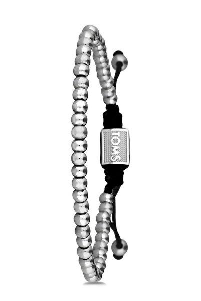 Toms Jewelry Unisex Gümüş Makrome Bileklik Tmj10595-695-a