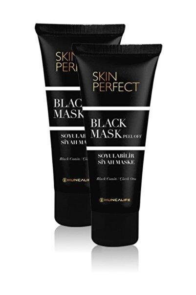 Huncalife Skin Perfect Black Mask 2'li Set