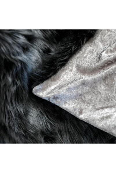 BAŞARAN Gri Pelüş Koltuk Şalı 130 X 150 Battaniye