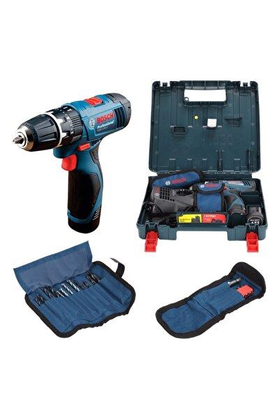 Bosch Professional Gsb 120-lı 1,5ah Akülü Darbeli Delme Vidalama + Aksesuar Seti - 06019f3007