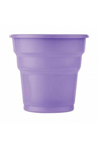 Roll-Up Lila Plastik Meşrubat Bardağı 25'li