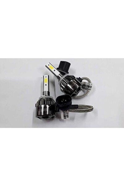 Oscar Xenon Set Turbo Cob Led H27 Metal Sogutmalı