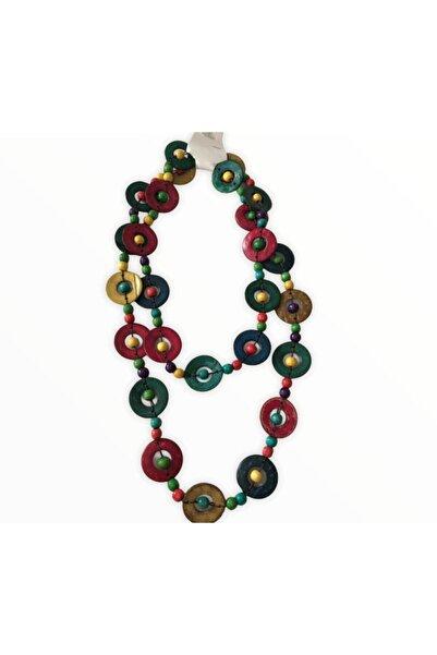Accessories Kostan Aksesuar Kadın Renkli Kolye