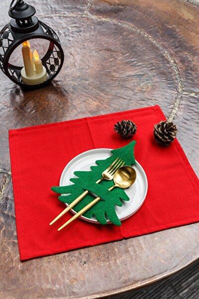 Arma House 6 Adet Çam Ağacı Kaşıklık & Servis Sunum