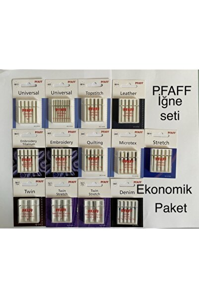 Pfaff Iğne Seti 13'lü Ekonomik Paket