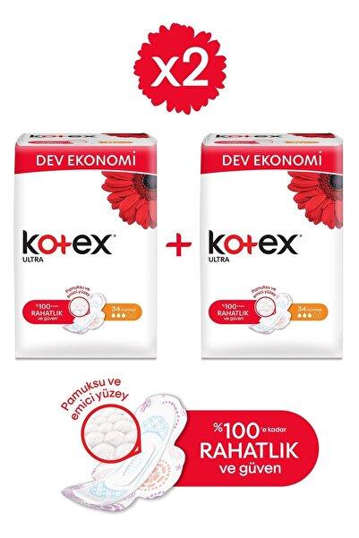 Kotex Ultra Dev Eko Normal 34'lü - 2'li Paket