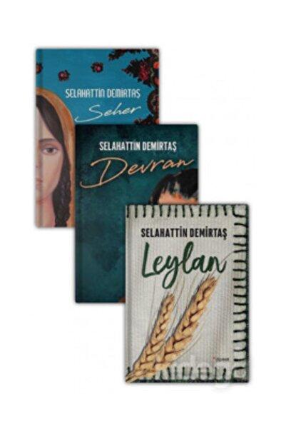 Dipnot Yayınları Seher - Devran - Leylan Seti (3 Kitap Takım)