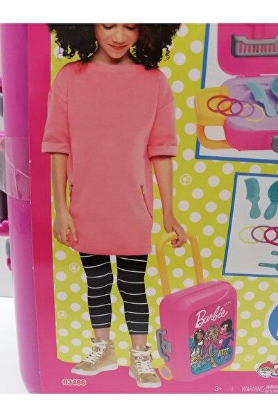 DEDE Barbie Makyaj Seti Çekçekli Çantada