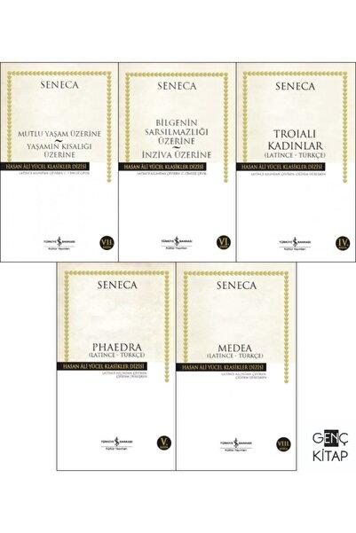 İş Bankası Kültür Yayınları Seneca 5 Kitap Set Iş Bankası Hasan Ali Yücel Klasikleri Bilgeliğin Sarsılmazlığı-mutlu Yaşam Üzerin