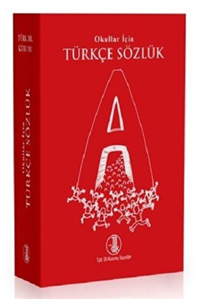 Türk Dil Kurumu Yayınları Okullar Için Türkçe Sözlük (kırmızı ) - Türk Dil Kurumu Kolektif -