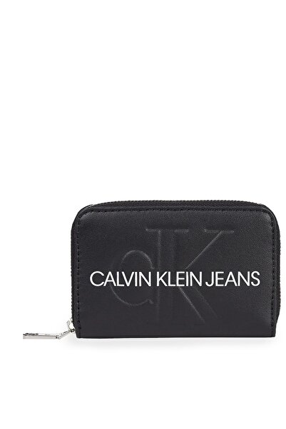Calvin Klein Logo Baskılı Cüzdan Kadın Cüzdan K60k607229 Bds