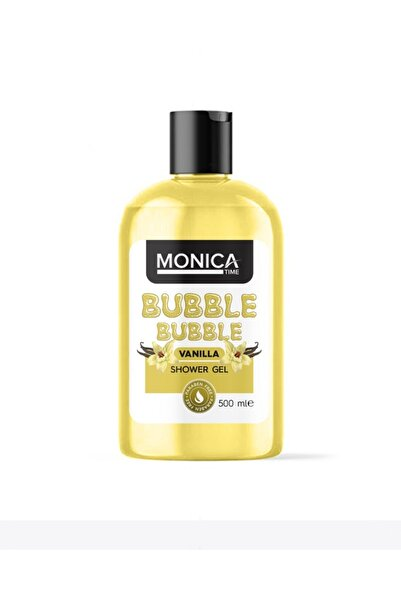 MONİCATİME Bubble Bubble Vanilya Özlü Duş Jeli 500 Ml