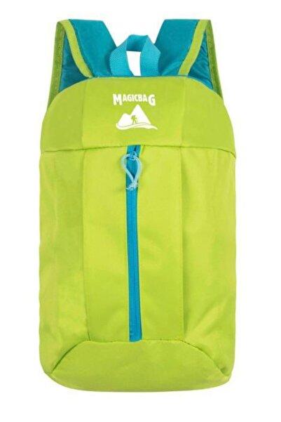 Magic Bag Unisex Yeşil Sırt Çantası