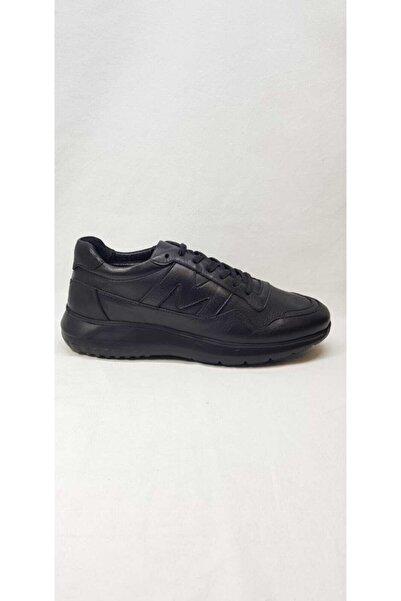 MARCOMEN 11279 Siyah Deri Erkek Ayakkabı