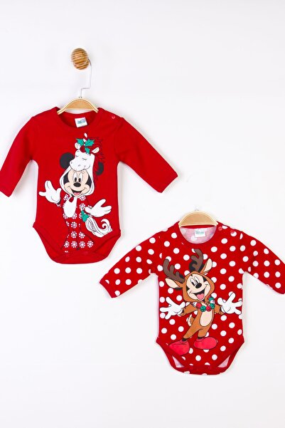 Mickey Mouse Disney Mickey 2'li Uzun Kol Body 17710