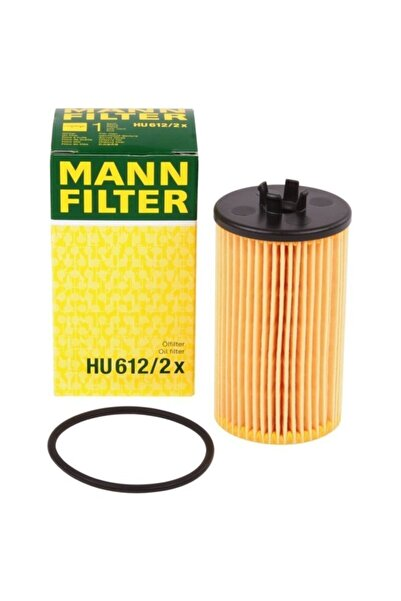 Mann Fılter Hu612/2x Opel Astra J 1.4,1.6 16v,insignia 1.4,1.6,1.8 - Chevrolet Cruze 1.6,1.8 Yağ Filtresi