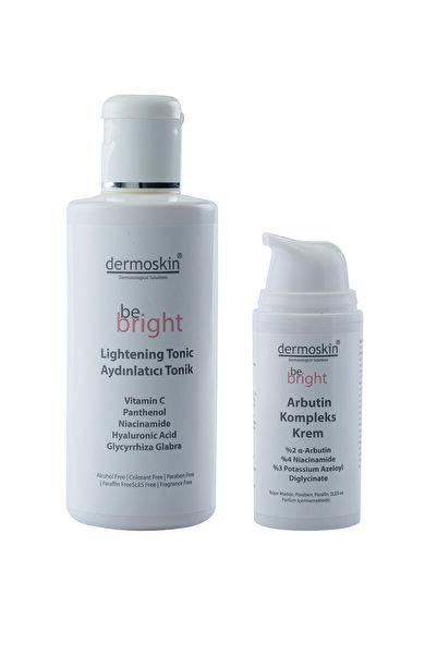 Dermoskin Be Bright Leke Giderici Arbutin Kompleks Krem 33ml+be Bright Aydınlatıcı Tonik 200 ml