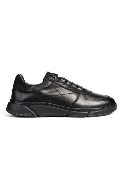 Greyder Erkek Siyah Bağcıklı Casual Ayakkabı