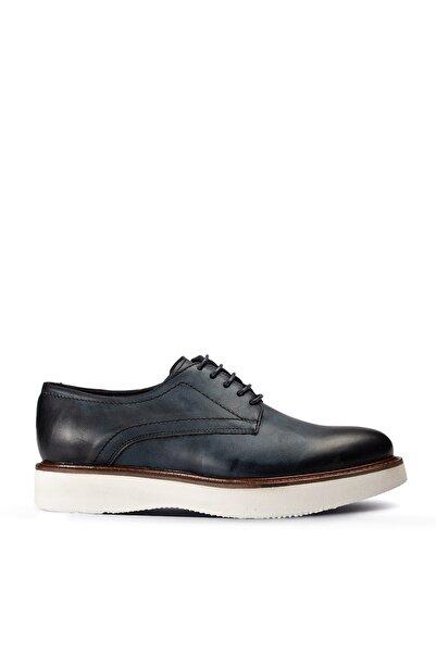 Deery Kadın Hakiki Deri Lacivert Günlük Ayakkabı