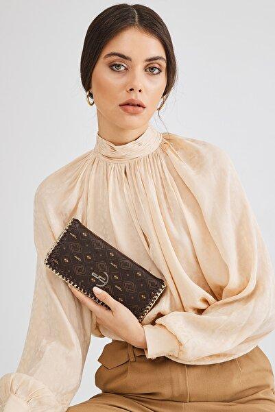 Deri Company Kadın Kahverengi Suni Deri Cüzdan (8021k)