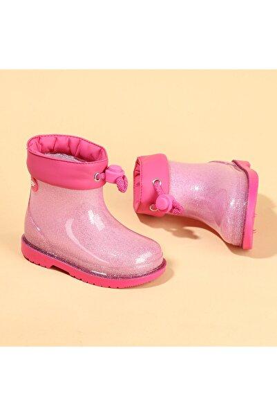 IGOR Bimbi Glitter Kız Çocuk Su Geçirmez Yağmur Kar Çizmesi Igor W10247