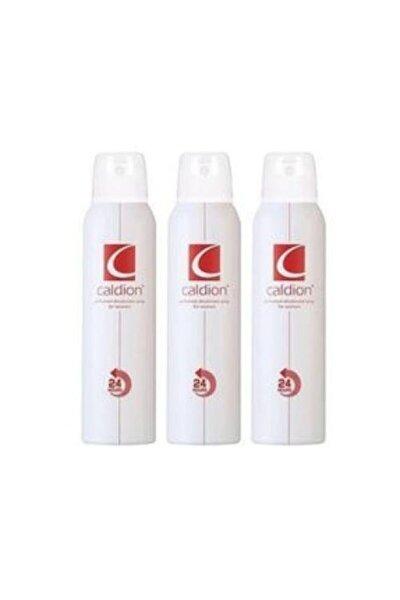Caldion Deodorant Bayan 3x150 Ml