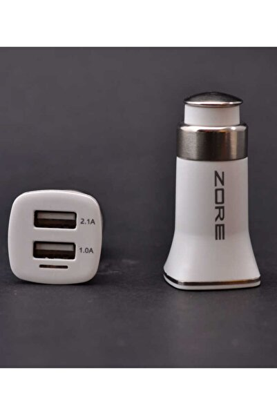 zore Patriot Beyaz Car Charger