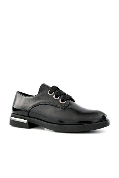 Beta Shoes Kadın Hakiki Deri Günlük Ayakkabı Siyah