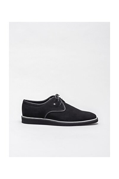 Elle Shoes Siyah Deri Erkek Klasik Ayakkabı