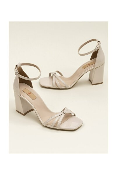 Elle Shoes Bej Kadın Sandalet ARNELLE