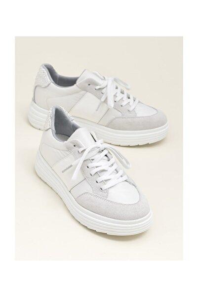 Elle Shoes Beyaz Kombin Kadın Spor Ayakkabı HANLEY