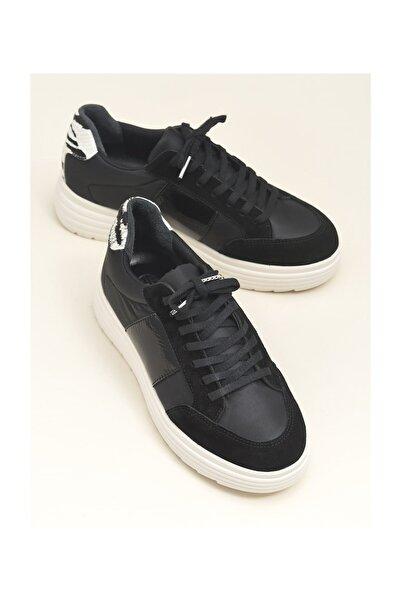 Elle Shoes Siyah Kombin Kadın Spor Ayakkabı HANLEY