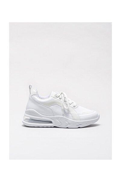 Elle Shoes Kadın Lysbet Beyaz Sneaker 20KGM21206