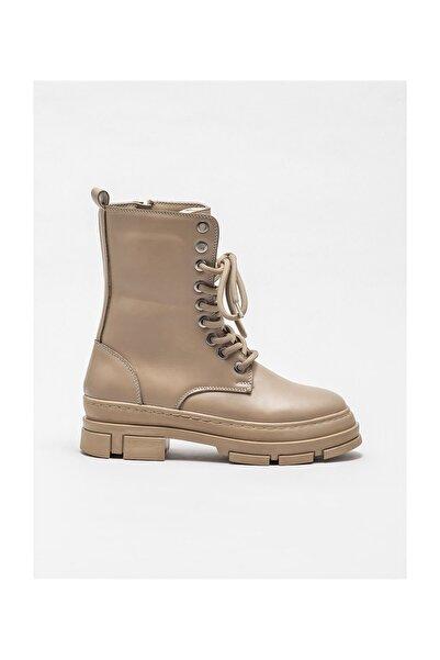 Elle Shoes Kadın Pompey Vızon Bot & Bootie 20KAD3434-04