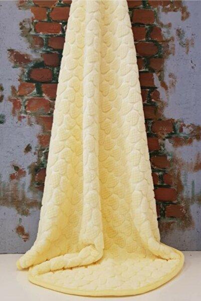 Merinos Sarı Bebek Battaniyesi