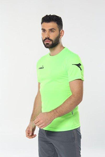 Diadora Erkek Fıstık Yeşili Nacce Antrenman T-shirt