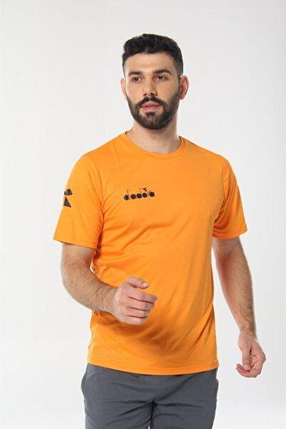 Diadora Erkek Turuncu Nacce Antrenman T-shirt
