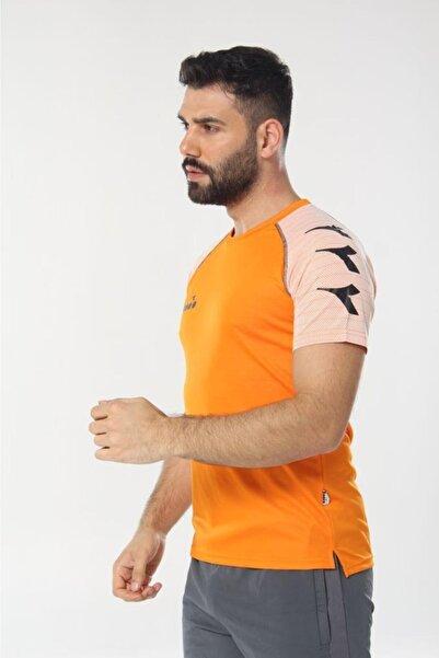 Diadora Erkek Turuncu Mundial Antrenman T-shirt
