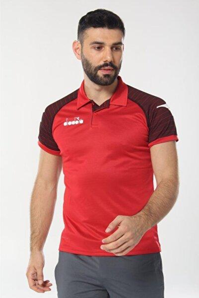 Diadora Erkek Kırmızı Mundial Kamp T-shirt