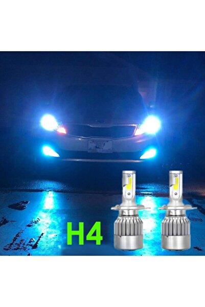 Sm Motors Super Nova Turkuaz H4 Şimşek Etkili Zenon Cob Led Xenon Buz Mavi