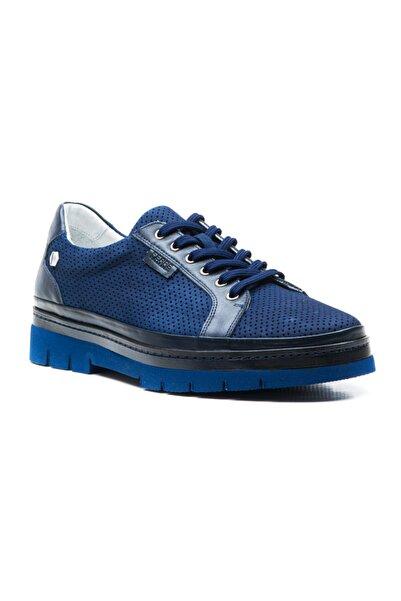 Ferre Erkek Lacivert Nubuk Günlük Ayakkabı