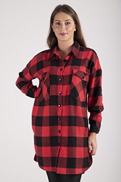 Kadın Kırmızı Oduncu Gömleği